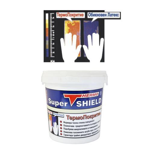 Термокерамично покритие СуперШилд интериор – опаковка 4 литра (3+1)