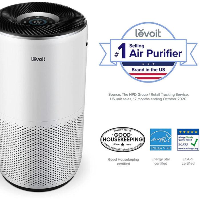 Пречиствател за въздух Levoit Core 400S, 83㎡